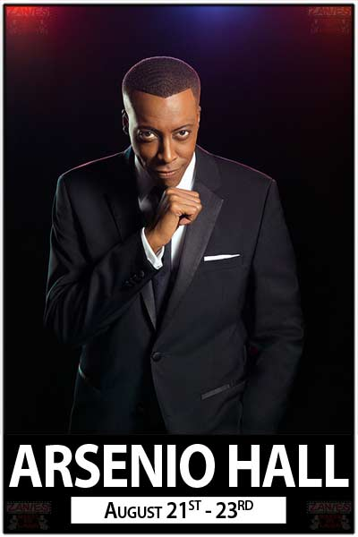 Arsenio Hall live at Zanies Comedy Club Nashville August 21-23, 2015