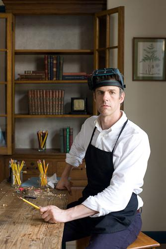David Rees How To Sharpen Pencils Book Release