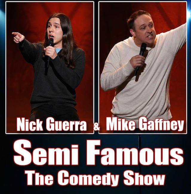 SEMI FAMOUS COMEDY TOUR