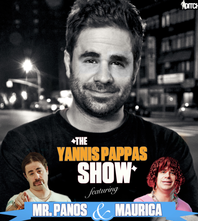 The Yannis Pappas Show Featuring Maurica  Mr Panos