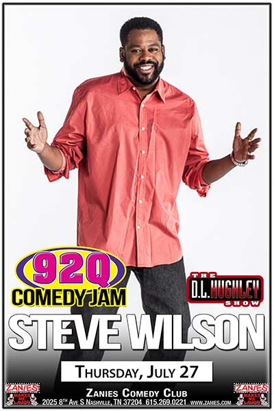 The 92Q Comedy Jam with Steve Wilson LIVE at Zanies July 27, 2017