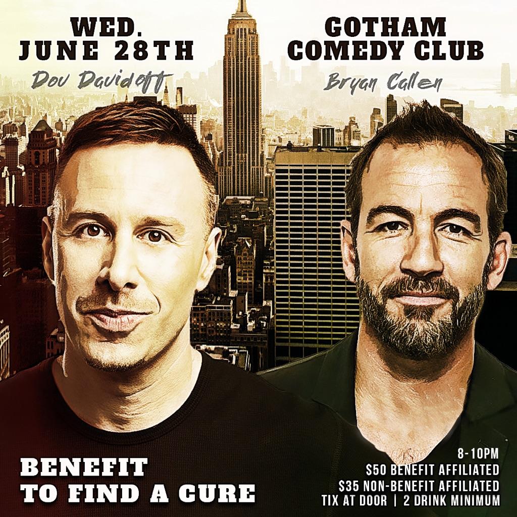 Gotham Comedy Club :: Bubba's Blast Glioblastoma! Featuring