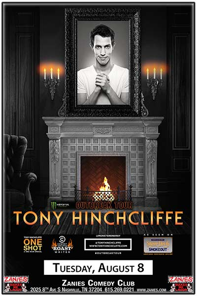 Tony Hinchcliffe LIVE at Zanies Comedy Club Nashville August 8, 2017