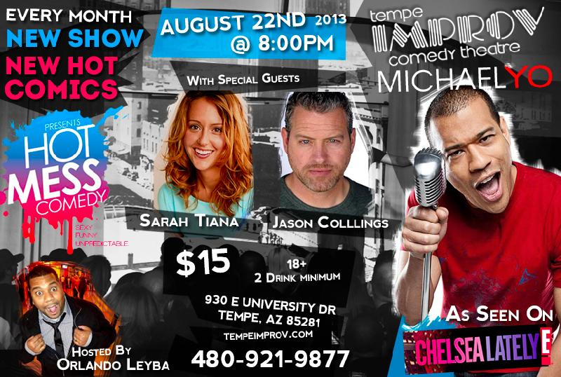 Michael Yo Presents HOT MESS COMEDY