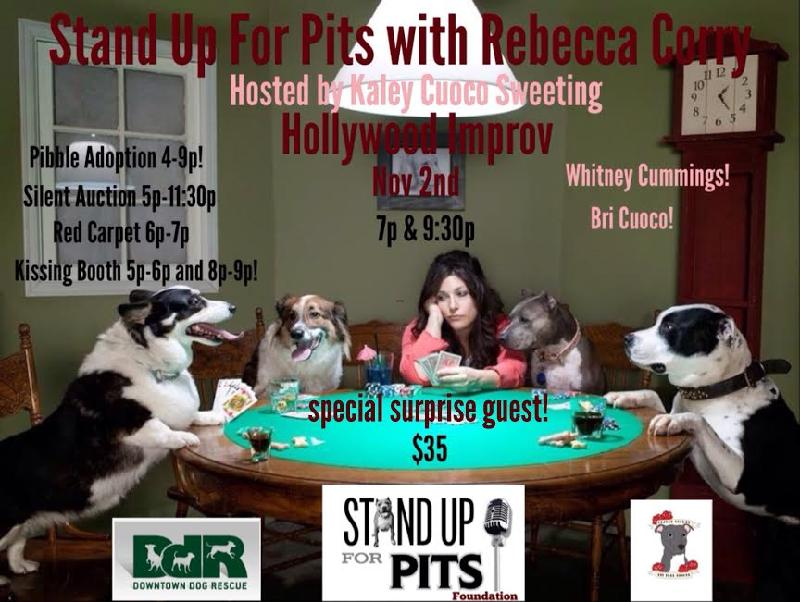 STAND UP FOR PITS with Rebecca Corry and Bill Burr hosted by Kaley Cuoco