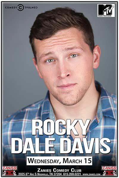 Rocky Dale Davis LIVE at Zanies - March 15, 2017