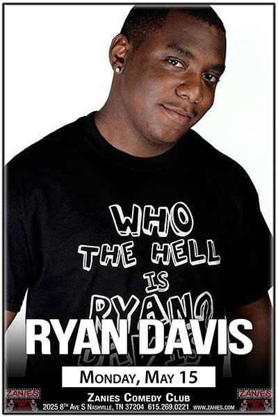 Ryan Davis LIVE at Zanies in Nashville May 15, 2017