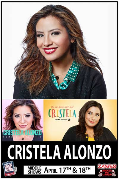 Cristela Alonzo from ABC's Christela Live at Zanies Comedy Club Part of the Wild West Comedy Festival on Friday and Saturday April 17 & 18, 2015 Middle Shows