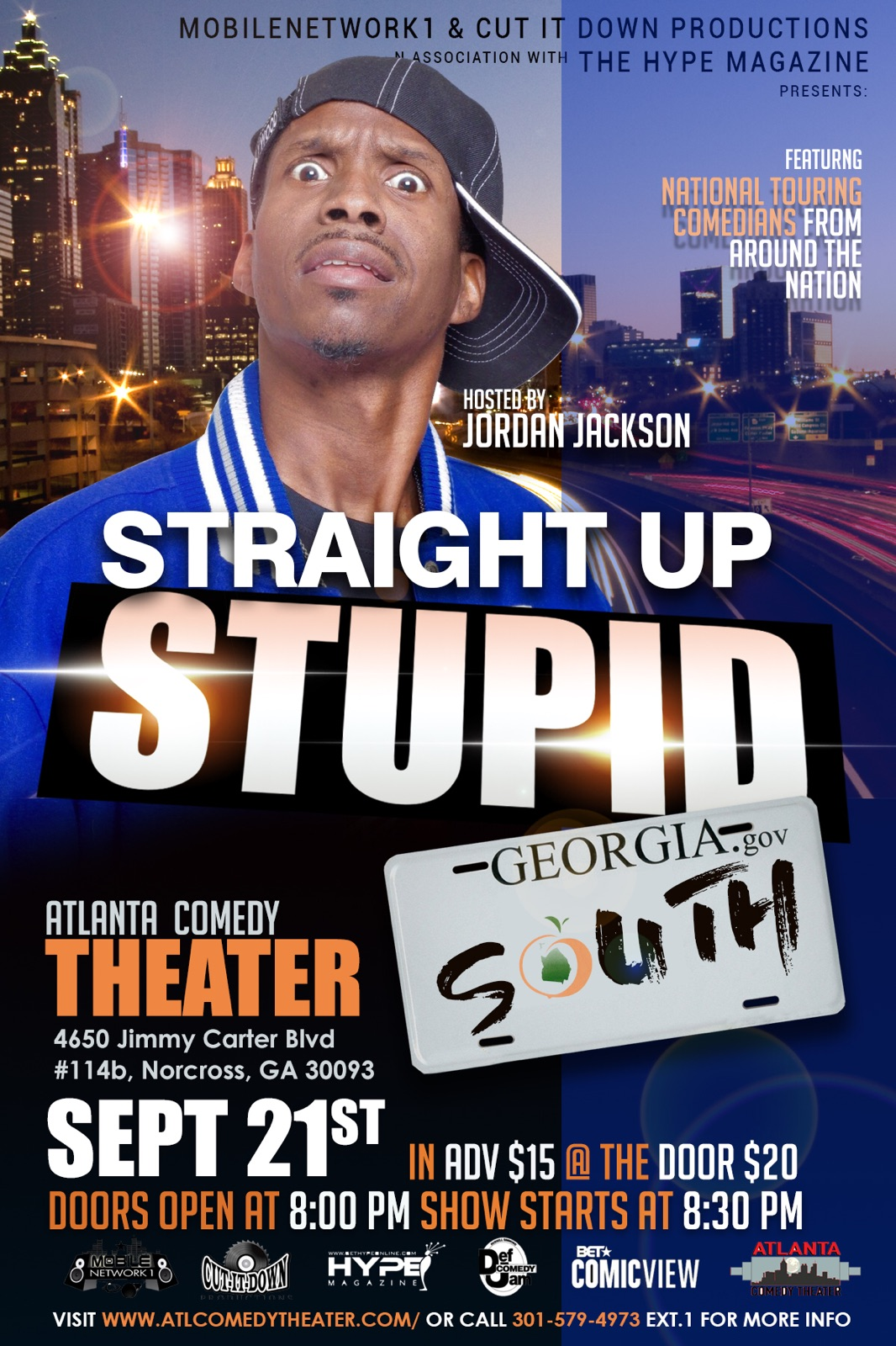 Straight Theater Makeup On Myself: STRAIGHT UP STUPID SOUTH Hosted By Jordan Jackson