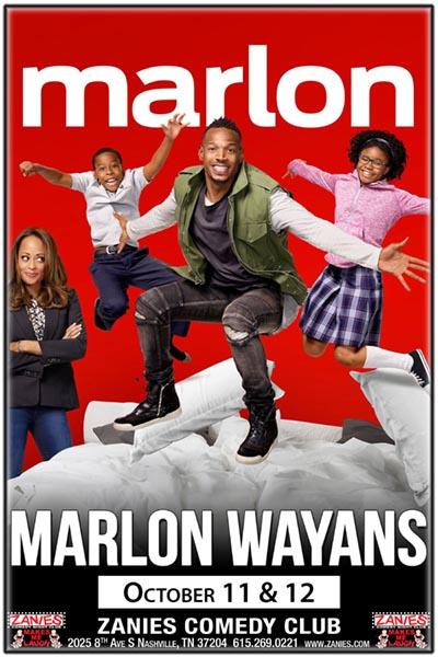 Marlon Wayans Live at Zanies Comedy Club Nashville October 11 & 12, 2017