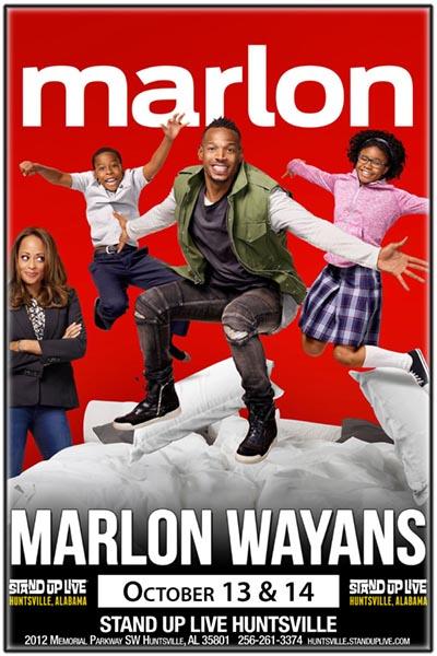 Marlon Wayans Stand Up Live Huntsville