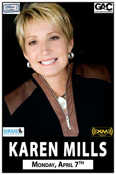 Karen Mills Monday, April 7