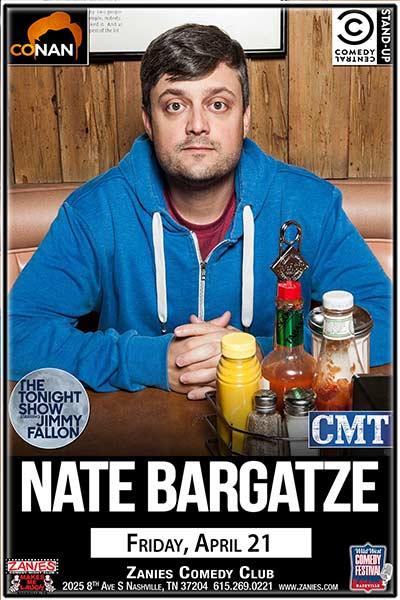 Nate Bargatze LIVE at Zanies Nashville April 21, 2017
