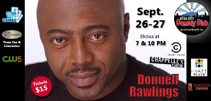 Celebrity Series starring Donnell Rawlings from the Chappelles Show
