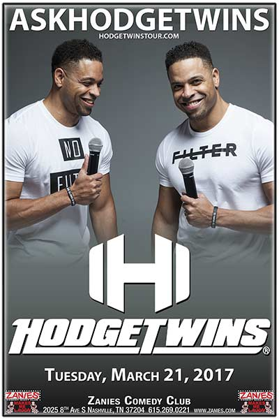 The Hodge Twins live at Zanies Comedy Club Nashville March 21, 2017