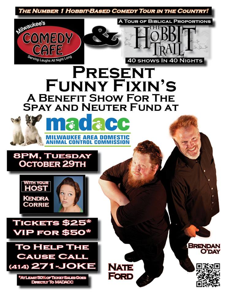 Funny Fixins Benefit show for MADACC