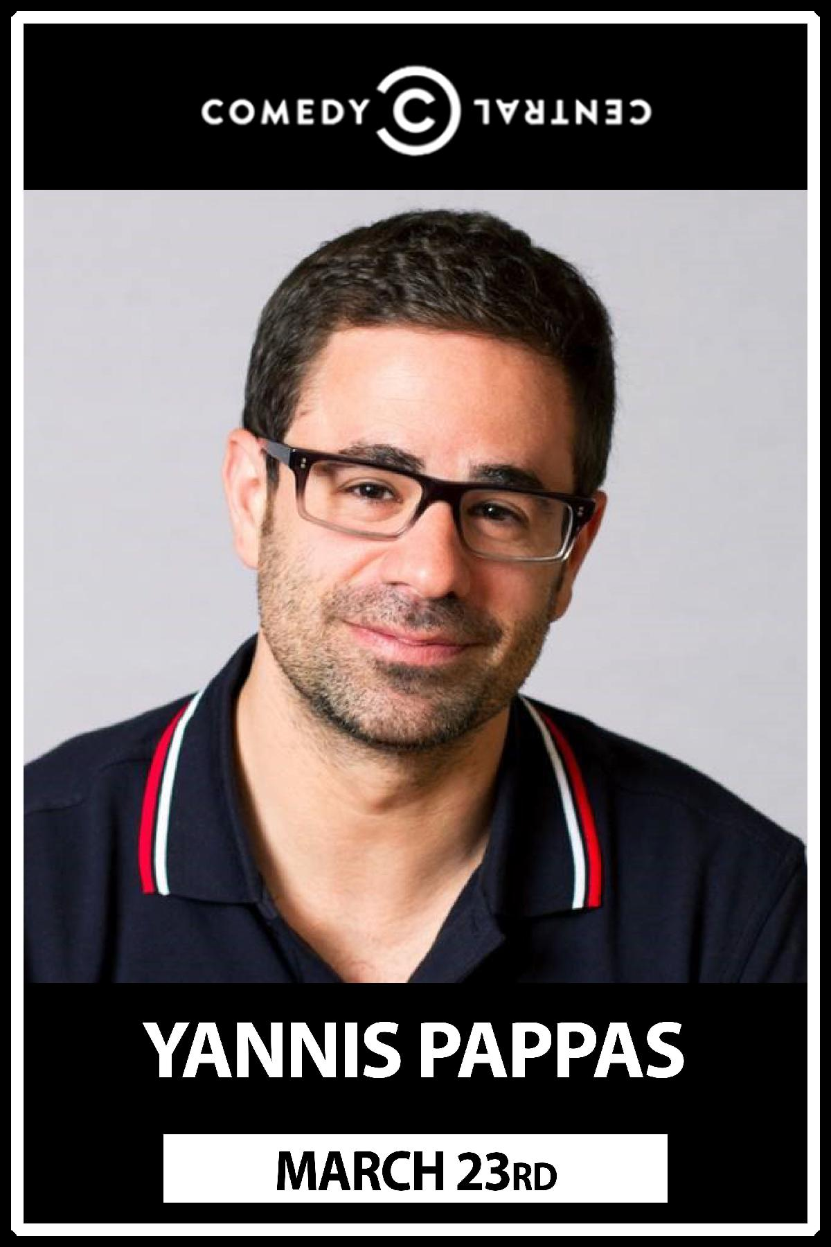 Yannis Pappas from Comedy Central live Zanies Nashville Wednesday, March 23, 2016