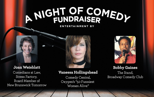 A Night of Comedy Fundraiser with Vanessa Hollingshead