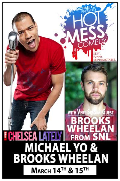 Michael Yo and Brooks Wheelan March 14 & 15