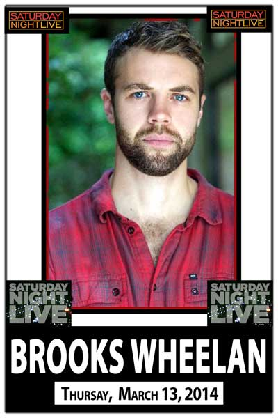 Brooks Wheelan from SNL Thursday March 13