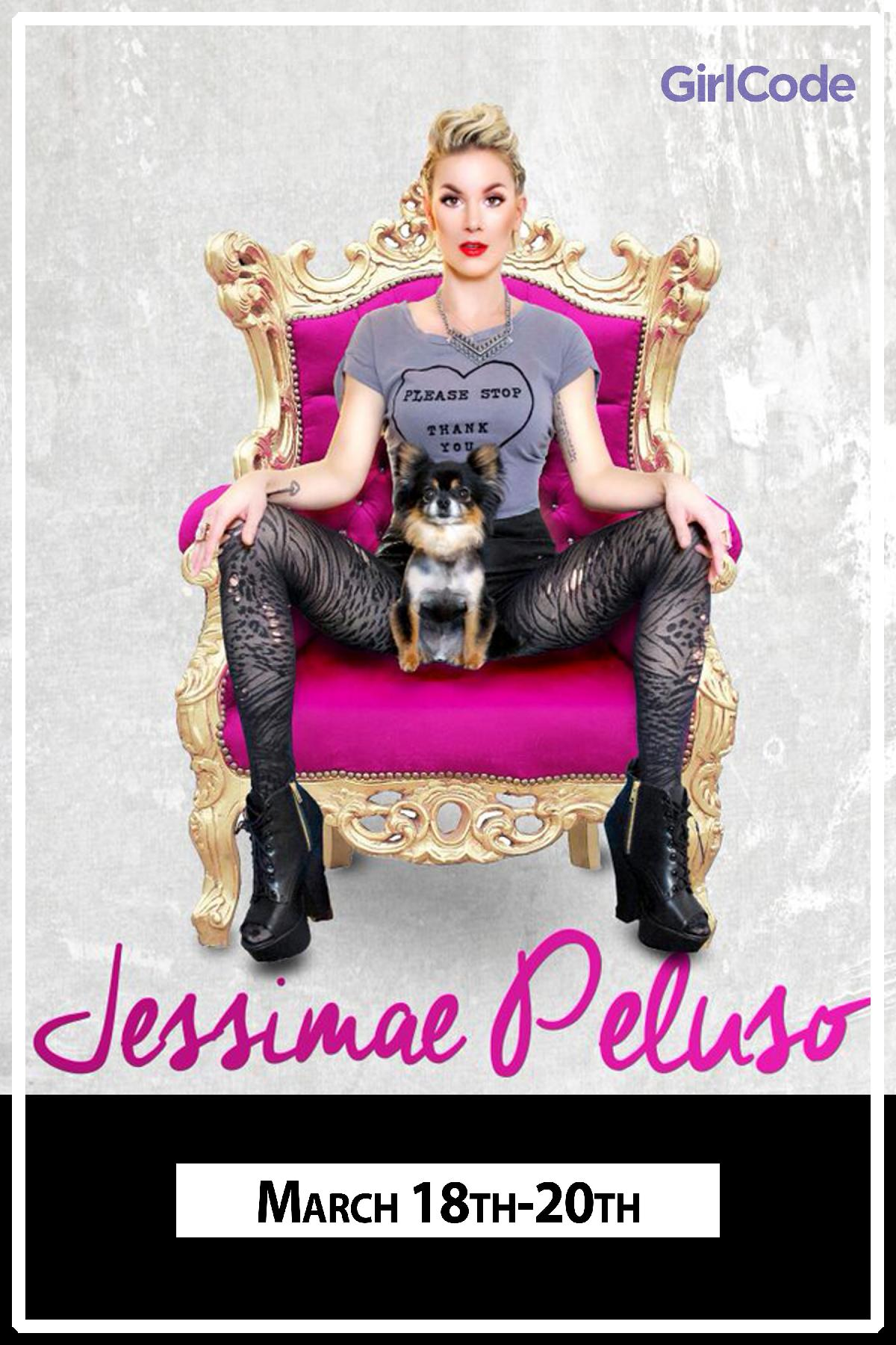 Jessimae Peluso from Girl Code live at Zanies Comedy Club Nashville March 18-20, 2016