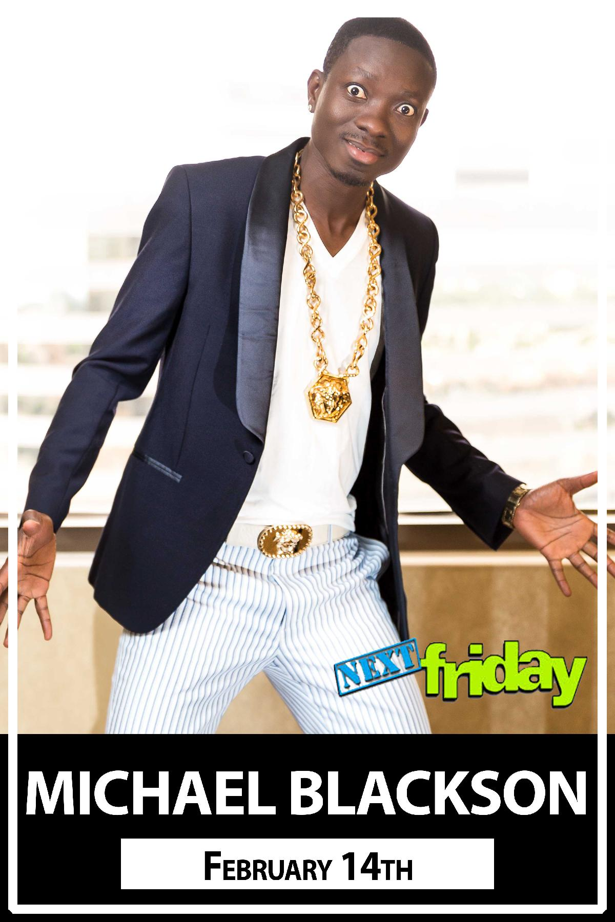 Michael Blackson The African King of Comedy live at Zanies Comedy Club Nashville Feburary 14, 2016