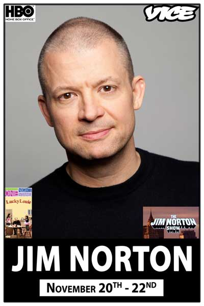 Jim Norton live from Opie & Anthony, HBO and much more November 21-22, 2014 at Zanies Comedy Club Nashville
