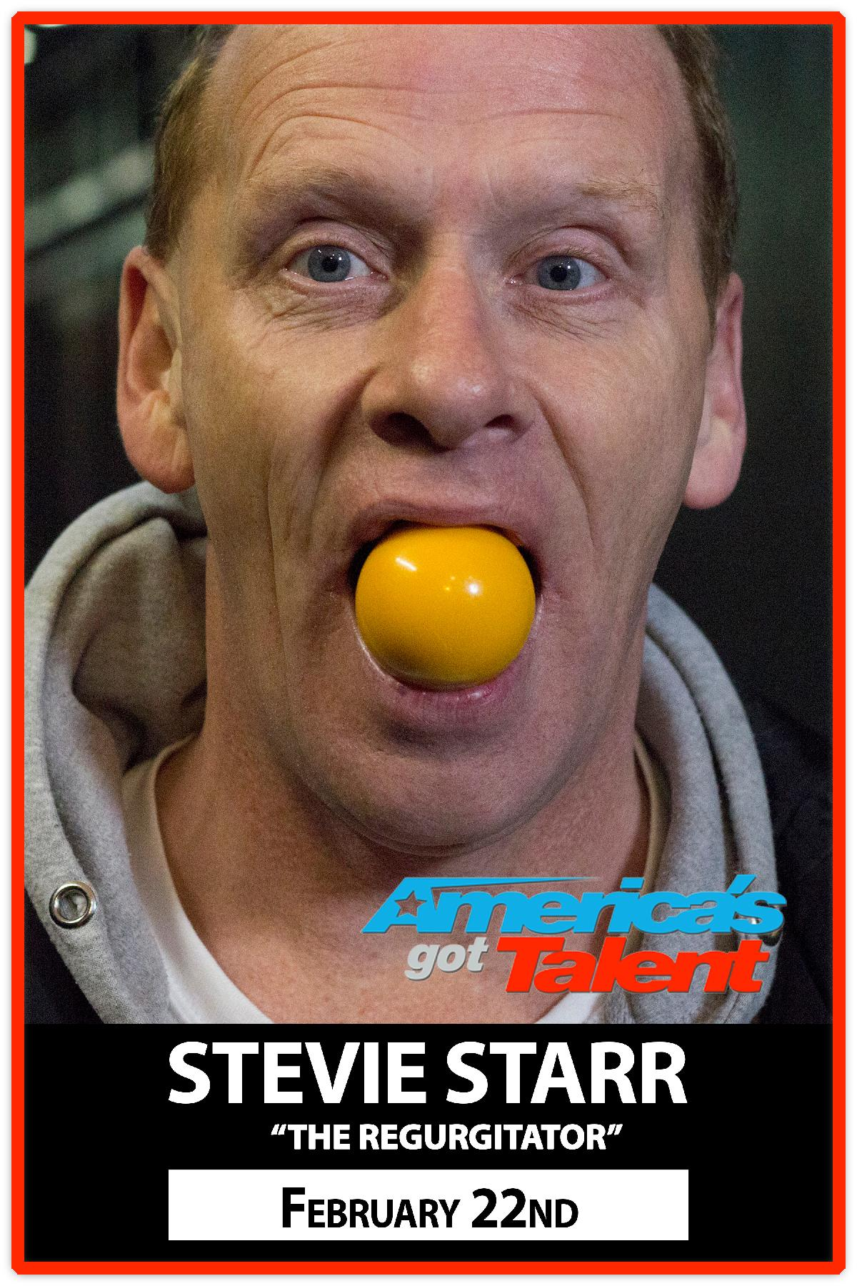 the Regurgitator Stevie Starr Feb 22