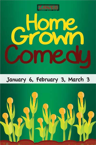 Home Grown Comedy Jan 6, Feb 3 and Mar 3, 2015 live at Zanies Comedy Club Nashville