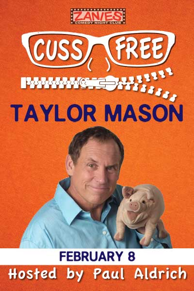 Cuss Free Comedy with Taylor Mason Feb 8, 2015 live at Zanies Comedy Club Nashville