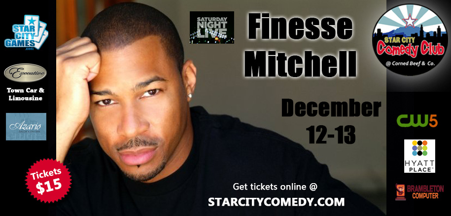 Celebrity Series starring Finesse Mitchell from Saturday Night Live