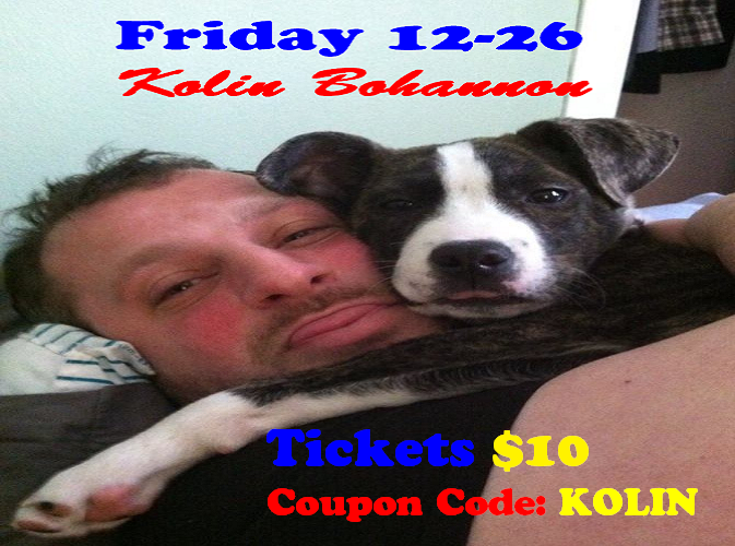 Ray Combs Presents FCC Comedy Show 10 Kolin Bohannon