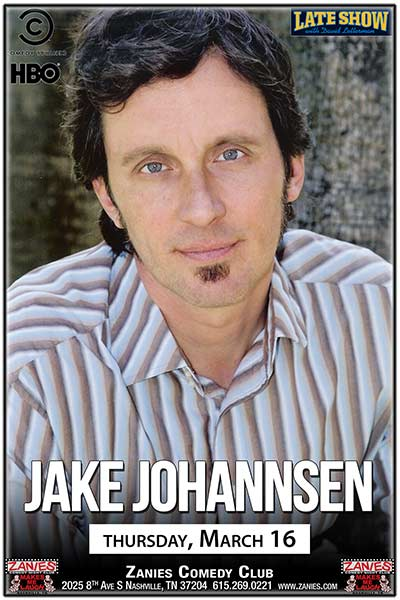 Jake Johannsen LIVE at Zanies - March 16, 2017