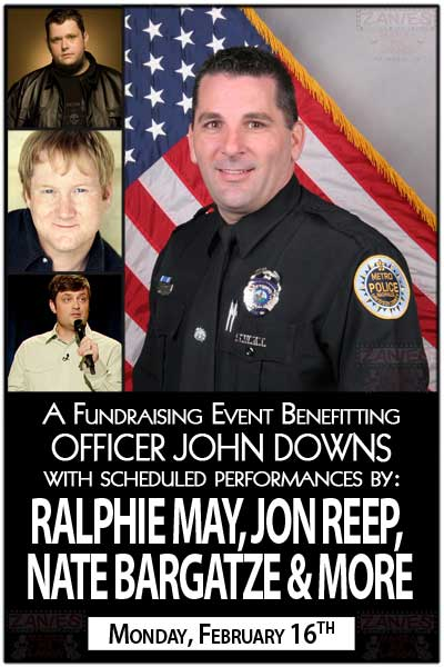 A Fundraising Event Benefitting Office John Downs with performances by RAPHIE MAY, JON REEP, NATE BARGATZE & MORE