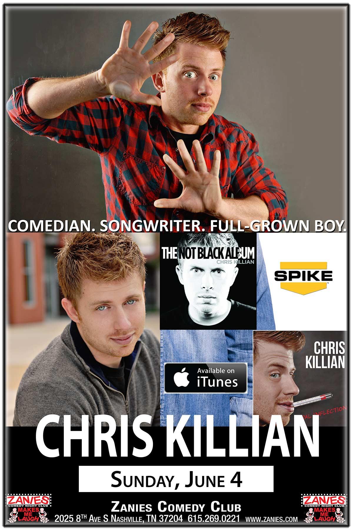 Chris Killian Live at Zanies Comedy Club Nashville June 4, 2017