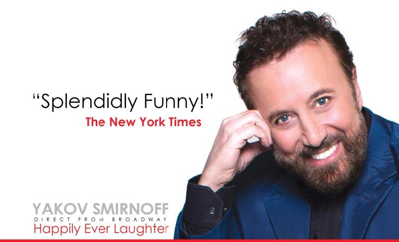 Yakov Smirnoff Happily Ever Laughter