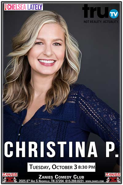 Christina P. Live at Zanies Comedy Club Nashville October 3, 2017