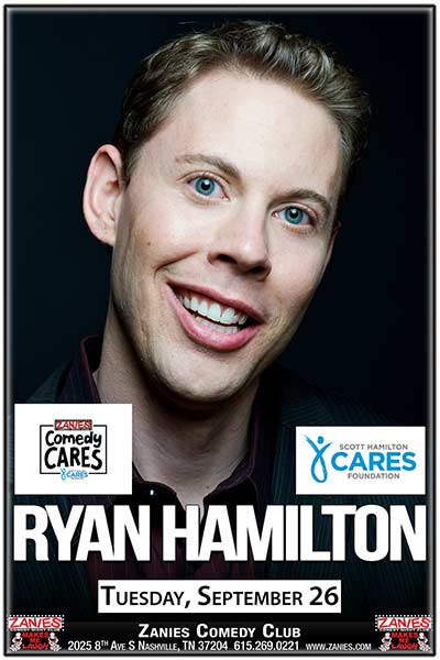 Comedy Cares ft. Ryan Hamilton Live at Zanies Comedy Club Nashville Tuesday, September 26, 2017