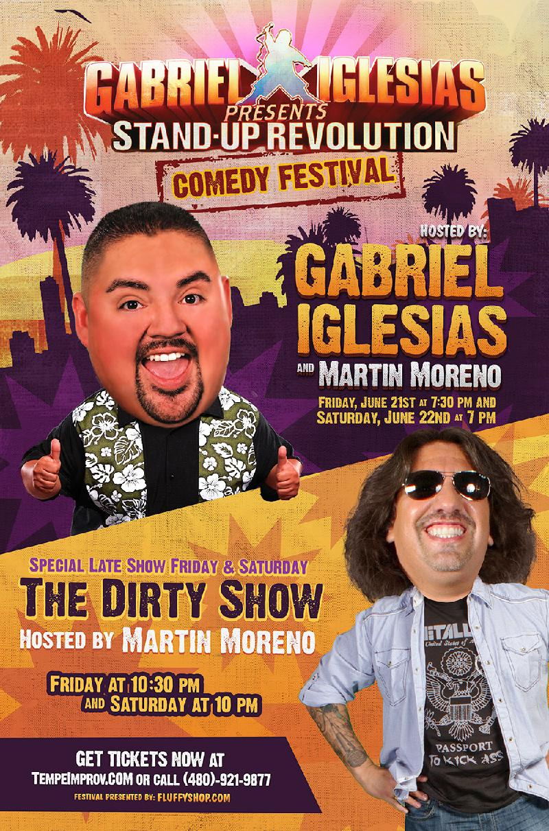 Stand Up Revolution Comedy Festival Hosted By Gabriel Iglesias