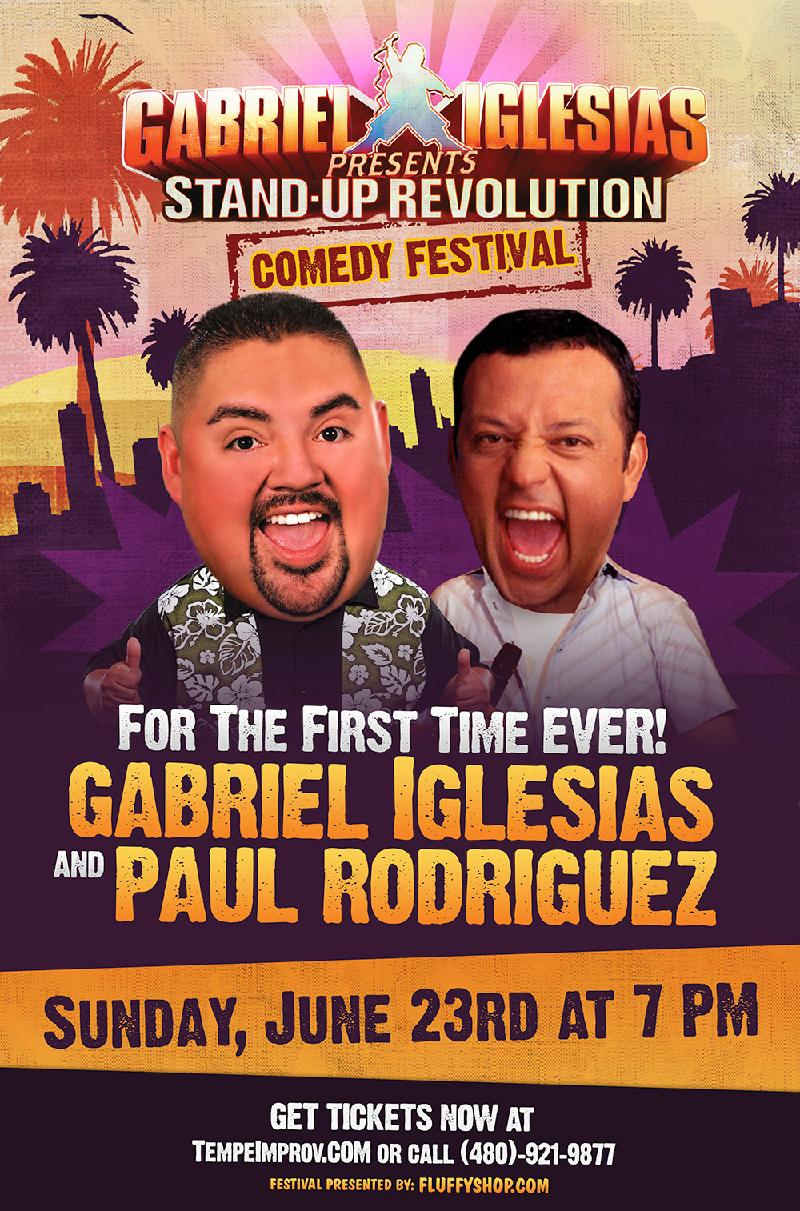 For The First Time Ever  Gabriel Iglesias  Paul Rodriguez