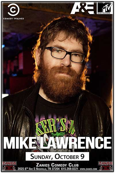 Mike Lawrence Live at Zanies Comedy Club in Nashville October 9, 2016