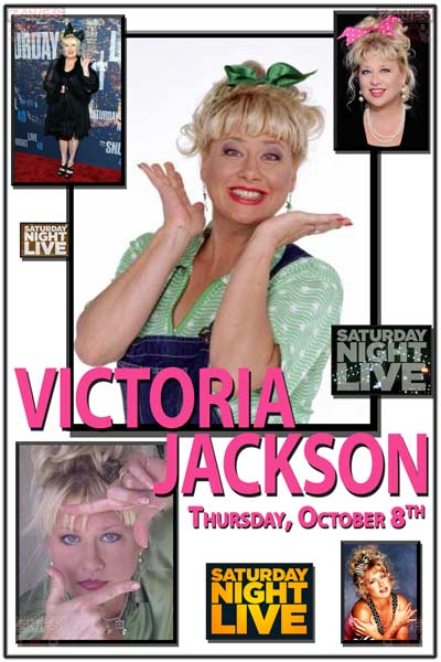 Victoria Jackson from SNL live at Zanies Comedy Club Nashville Thursday, October 8, 2015