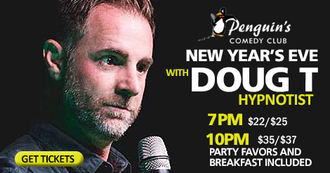 DOUG T HYPNOTIST - NEW YEARS EVE SPECIAL!
