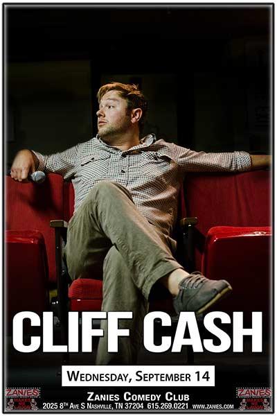 Cliff Cash Wednesday, September 14, 2016