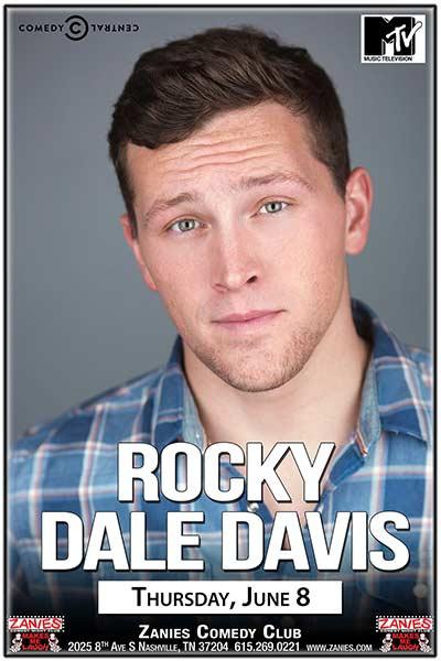 Rocky Dale Davis Live at Zanies Comedy Club Nashville June 8, 2017