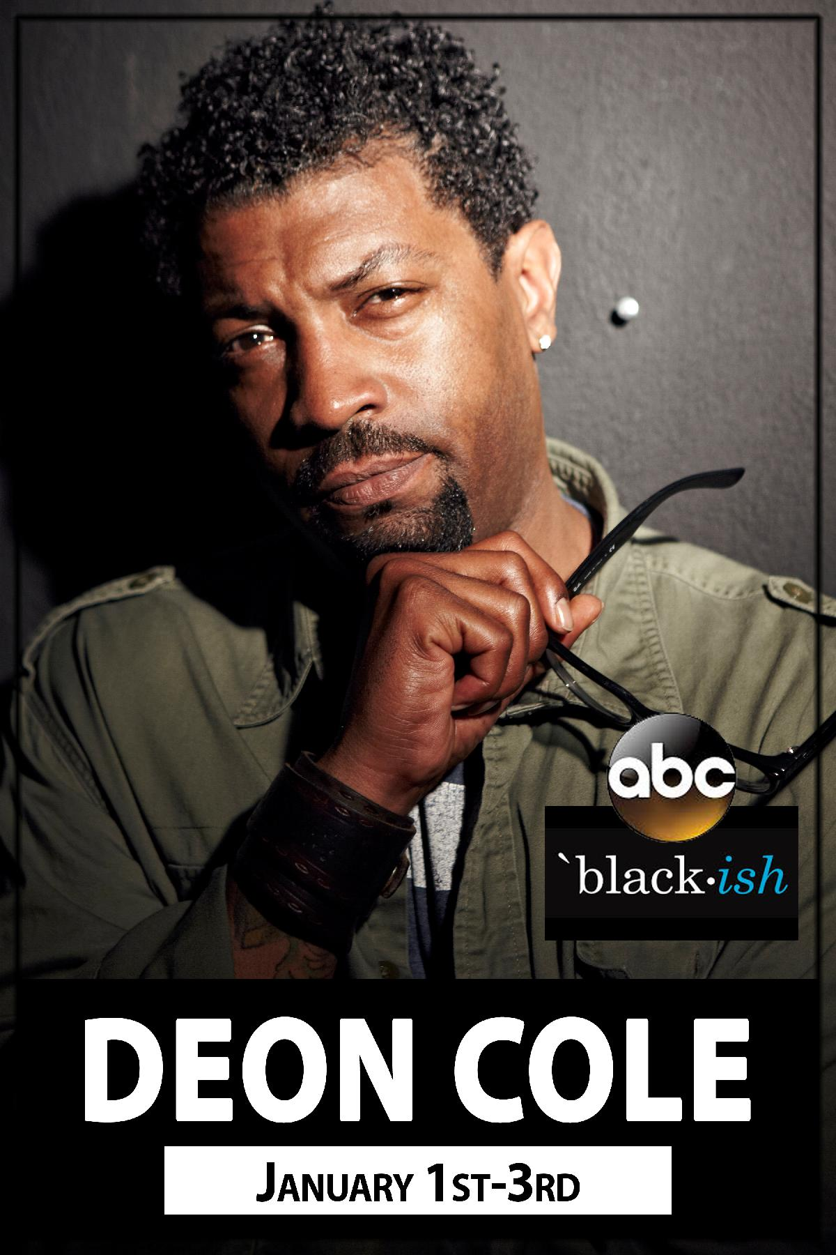 Deon Cole from ABCs Blackish live at Zanies Comedy Club Nashville January 1-3, 2016