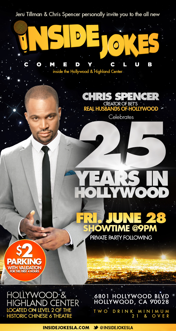 Chris Spencers 25 Years in Hollywood Celebration