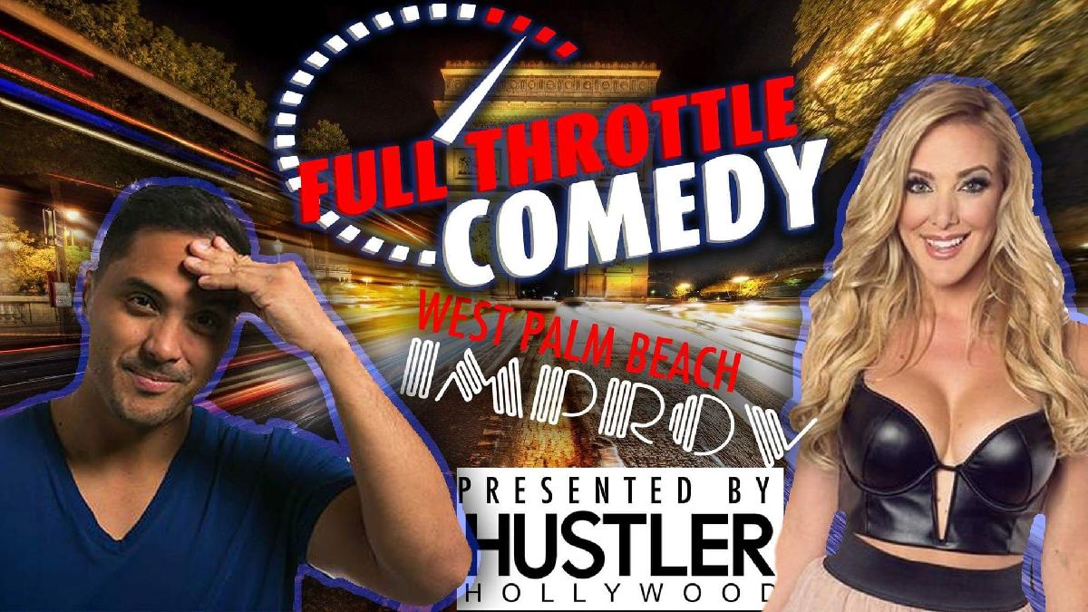Palm Beach Improv Full Throttle With Mike Quu Amp Kate