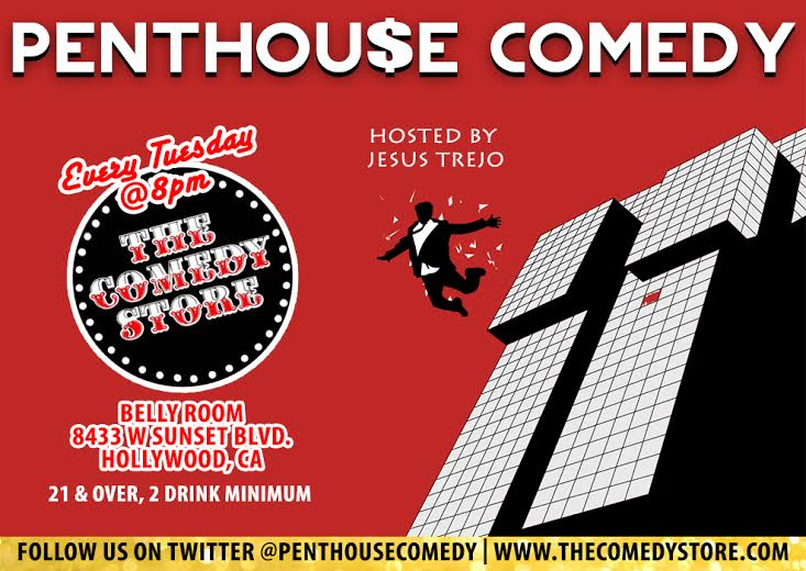 Penthoue Comedy Chris Burns Birthday show with Eric Andre Jerrod Carmichael Barry Rothbart