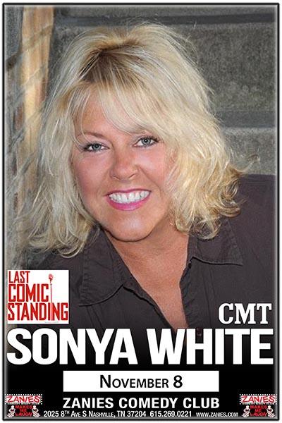 Sonya White live at Zanies Comedy Club Nashville November 8, 2017